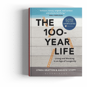 Bestseller around the world on longevity and ageing society The New Long Life by Andrew J scott