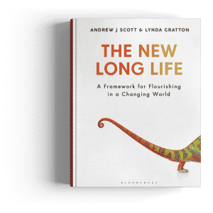 The New Long Life out now in the UK on longevity and aging well by Andrew J Scott