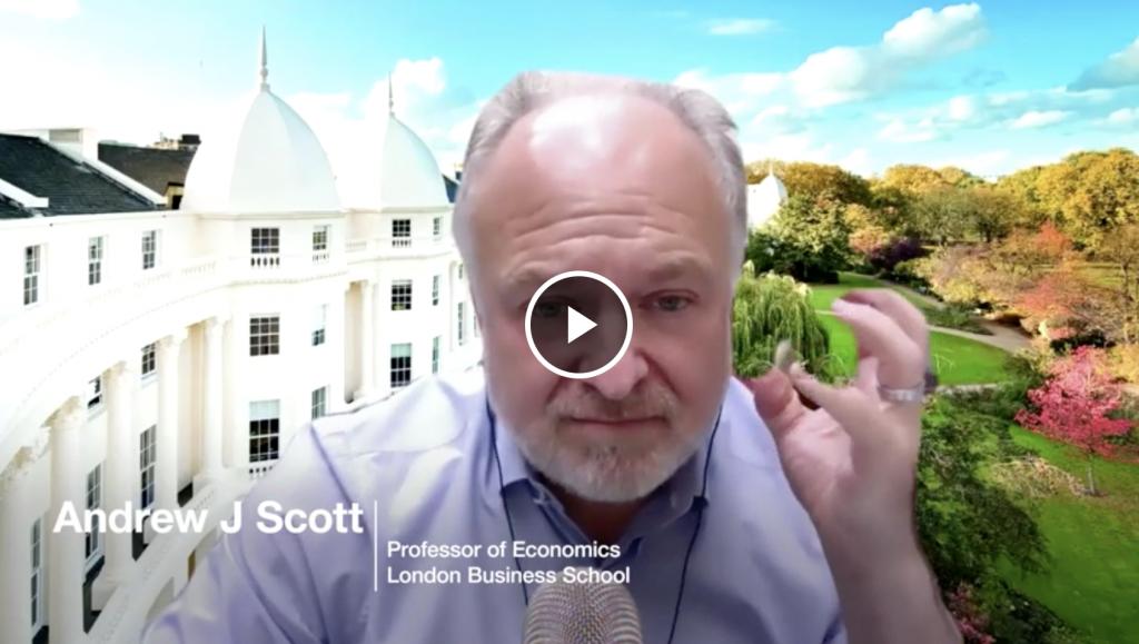 WEF Andrew Scott Healthy Aging